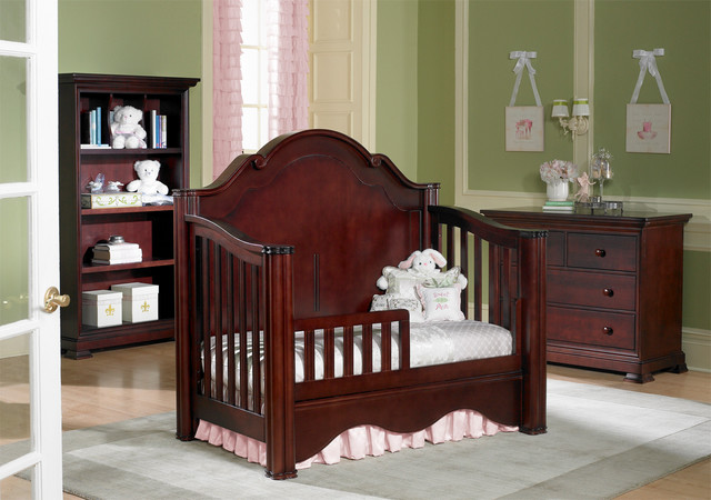 Enchanted Crib Converted Into Toddler Bed Traditional Toddler Beds Other Metro By Baby 39 S