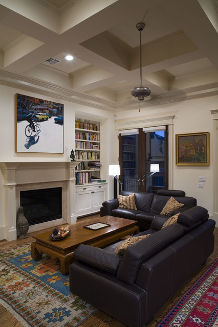 2scale architects traditional-living-room