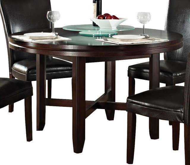 steve silver hartford 52 inch round dining table