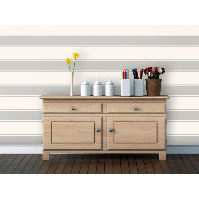 Swag Paper Stripes Removable Wallpaper modern-wallpaper