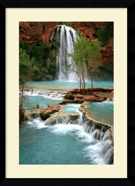 Havasu Paradise Framed Print by Andy Magee traditional-prints-and-posters