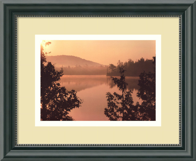 Golden Dawn Framed Print by Mike Jones traditional-prints-and-posters