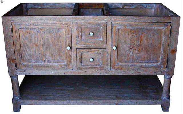 Villa Marina Reclaimed Wood Bathroom Cabinet
