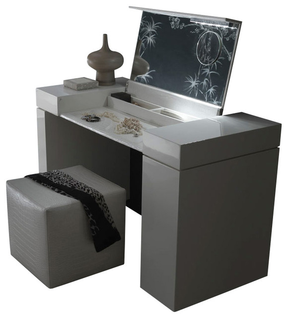 Nightfly Dressing Table-White - Modern - Dressers - by Inmod
