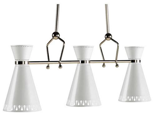 Jonathan Adler Havana Triple Pendant modern-chandeliers