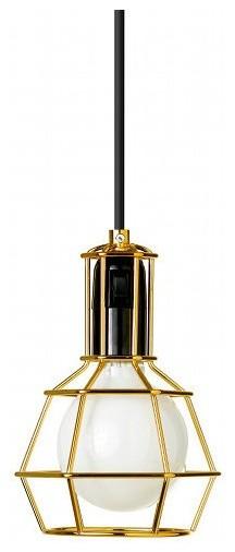 Gold Work Lamp modern-pendant-lighting