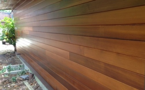 Clear vertical grain western red cedar siding modern for Cedar creek siding reviews