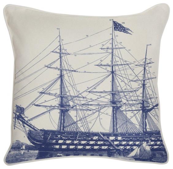 Outdoor Pillows, Ship modern-outdoor-cushions-and-pillows