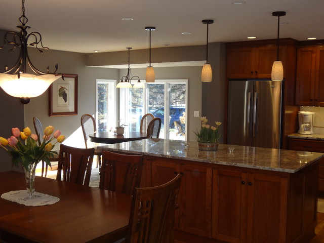 Updated traditional kitchen remodel for Traditional kitchen meaning