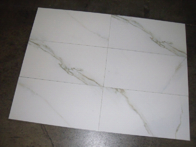 1 Sample Ceramic Tile 18x18 Porcelain Tiles Travertino