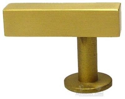 Lews Hardware Bar Pull Collection Bar Knob, Brushed Brass ...