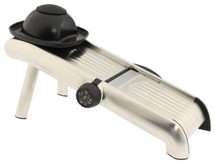 OXO Stainless Steel Mandoline Slicer Stainless Steel modern-mandolines