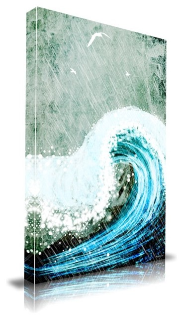 """The Great Wave' Print by Maxwell Dickson, 16"""" x 20"""" modern-prints-and-posters"""