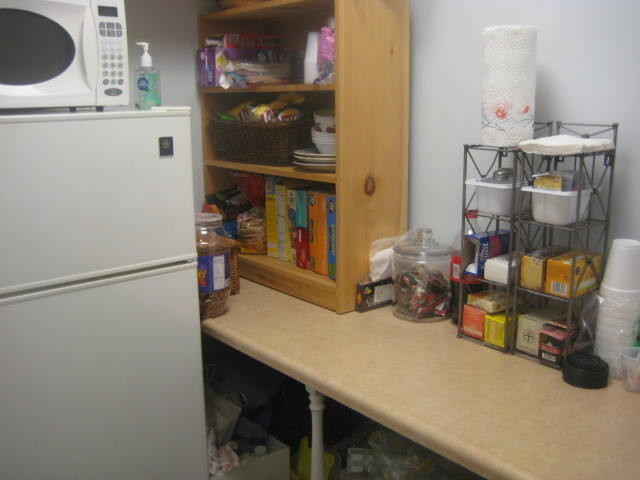 Kitchen/Office traditional