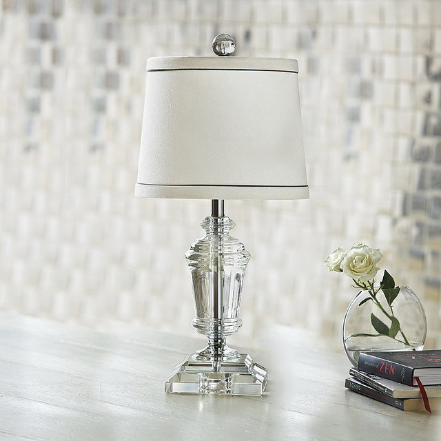 mini crystal urn lamp traditional table lamps by frontgate. Black Bedroom Furniture Sets. Home Design Ideas