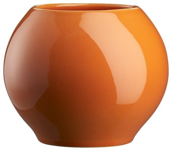 Elio Orange Vase modern vases