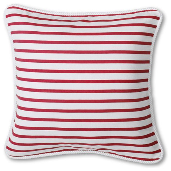 """20"""" x 20"""" Boating Stripe Decorative Pillow Cover pillows"""