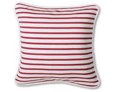 "20"" x 20"" Boating Stripe Decorative Pillow Cover pillows"