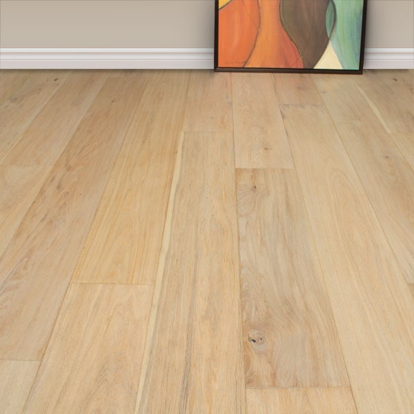 "Free Samples of 7 1/2"" Andora Oiled white oak engineered hardwood flooring - Contemporary ..."