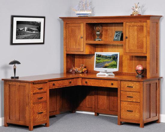 Coventry Mission L Desk -
