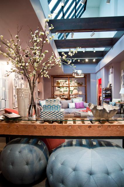 Decorative Home - Bergdorf Goodman eclectic-living-room