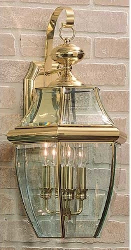 Newbury Large Outdoor Wall Mount traditional-outdoor-wall-lights-and-sconces