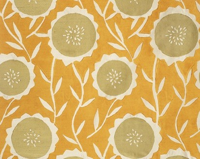 Sunflower Fabric contemporary fabric