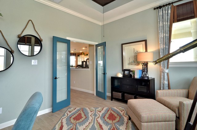 The Oceanside traditional-home-office