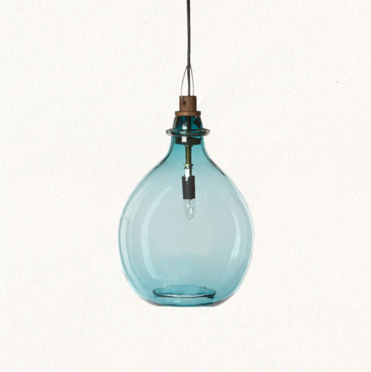 Glass Jug Pendant
