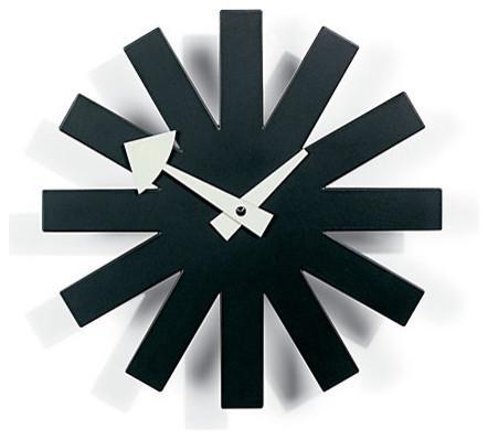 Nelson Asterisk Clock modern-wall-clocks