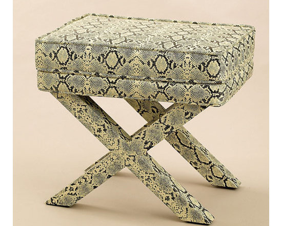 Royal Python Rectangle Bench by Two's Company® -