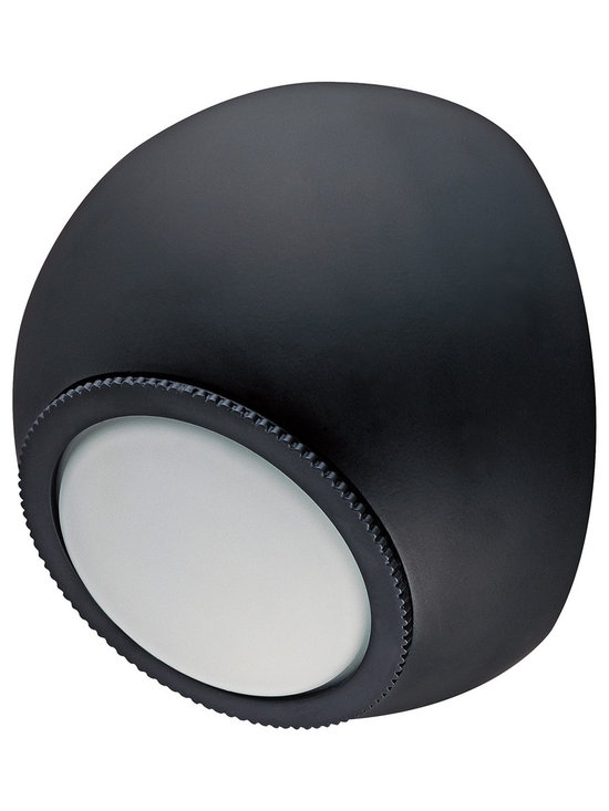 """CSL - CSL Orb Bronze 5 1/4"""" Wide LED Wall Light - Go sleek and modern with this indoor/outdoor LED wall light from the Orb collection by CSL. The design features an aluminum construction round orb body in dark bronze finish. An opal glass diffuser sits over three LED lights. The glass rotates 120-degrees off center and the design is wet-location rated for versatility in placement and also ADA compliant. Aluminum construction. Bronze finish. Opal glass diffuser. Includes three LEDs. 5 1/4"""" wide. Wet-location rated. ADA compliant. LED rated at 2800K 180 lumens. 5 1/4"""" wide. Extends 3 3/4"""" from the wall.  Aluminum construction.  Bronze finish.  Opal glass diffuser.  Includes three LEDs.  5 1/4"""" wide.  Wet-location rated.  ADA compliant.  180 lumens.  Comparable to a 20 watt incandescent.  LED rated at 2800K.  5 1/4"""" wide.  Extends 3 3/4"""" from the wall."""