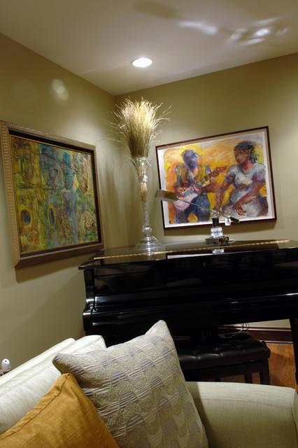 Gold Elegance traditional-living-room