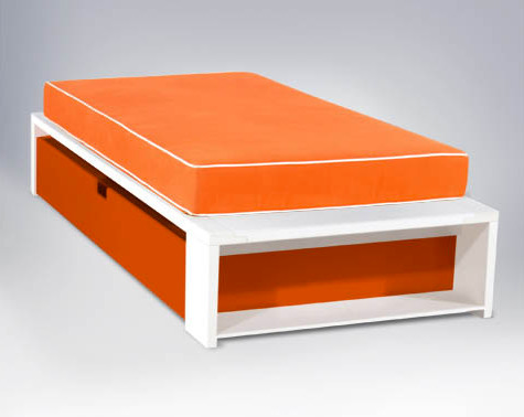 Alex Platform Bed, Twin size - Modern - Kids Beds - by ducduc