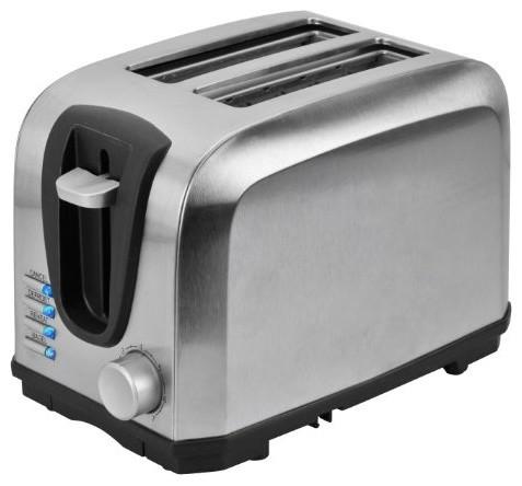 Kalorik 2 Slice Stainless Steel Toaster modern-toasters