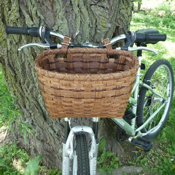 Bicycle Basket By Joanna's Collections contemporary-baskets