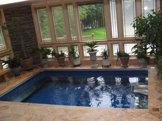 Original endless pools inground swimming pool for Endless pool in basement
