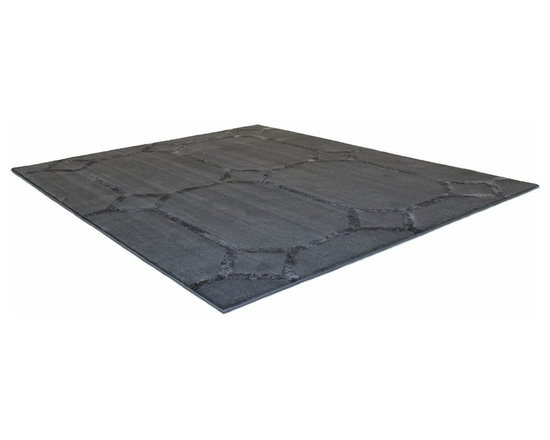 Catherine Rug - This low pile nylon rug is made locally in California.