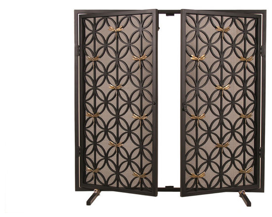 Philip Nimmo Fire Screens and Accessories - Dragonfly Fire Screen