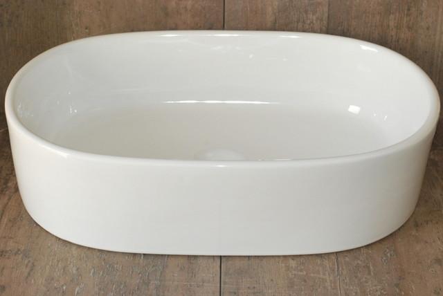 Oval Porcelain Vessel Sink Cb02 Bathroom Sinks San