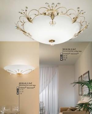 Cornaro ceiling lamp large modern