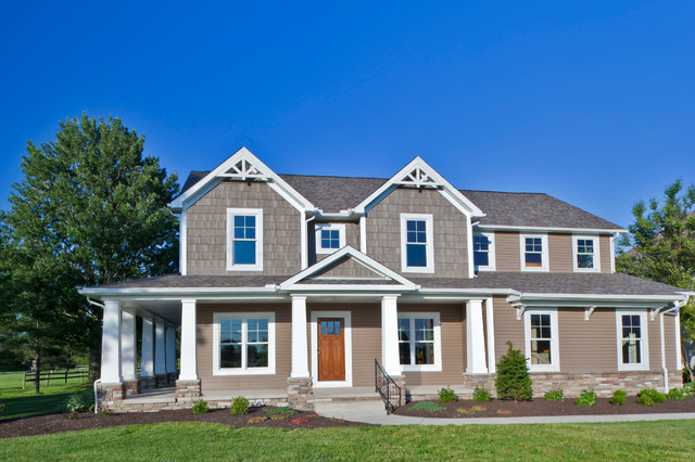 Schumacher home exterior traditional exterior other for Schumacher homes house plans