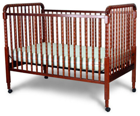 Jenny Lind Fixed Side Convertible Crib modern-cribs
