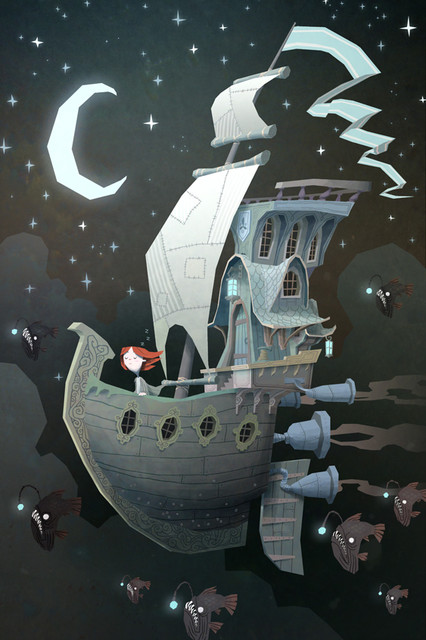 Fly By Night By Ken-Wong contemporary-artwork