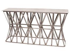 GO Home Ltd Hip Vintage Crisscross Console contemporary-coffee-tables