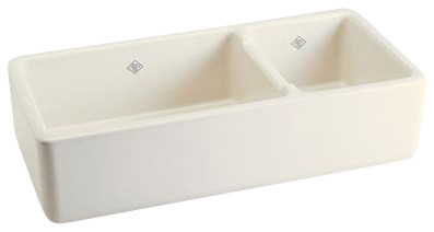 Rohl Shaws Rutherford RC4019BS Kitchen Sink contemporary-kitchen-sinks