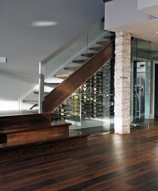 Modern winery modern wine cellar