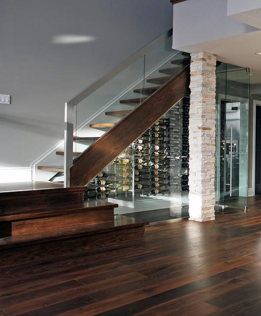Modern winery modern-wine-cellar