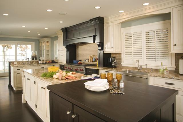 Kitchen Beaded Inset Black Hearth kitchen