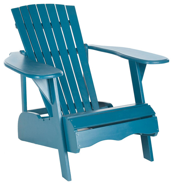 Outdoor Mopani Chair Blue Contemporary Outdoor Lounge Chairs